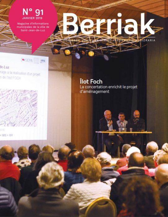 Couverture Berriak 91