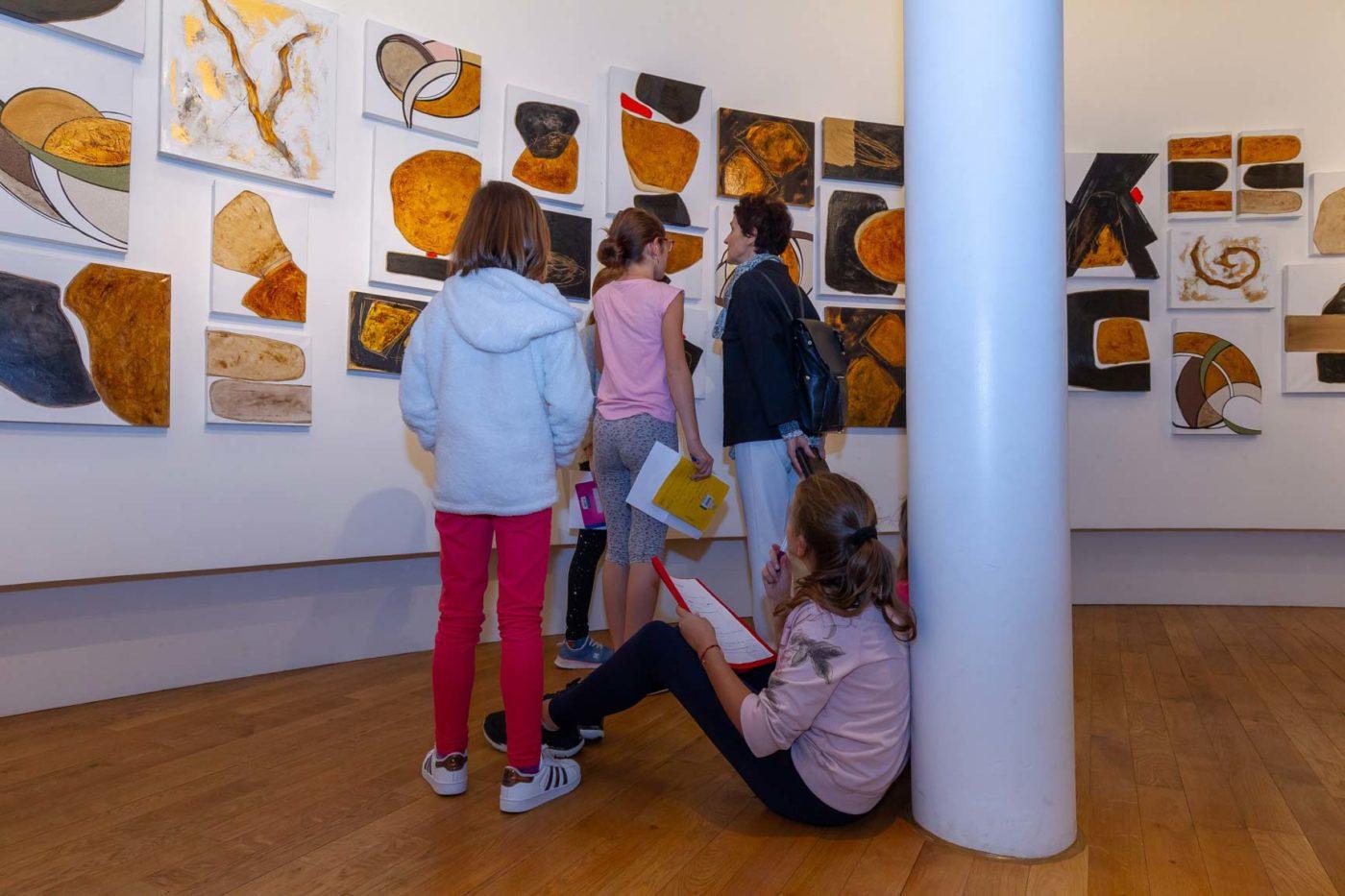Exposition Kardesch Variations Remise Oeuvre Ville