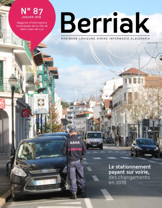 Couverture Berriak 87