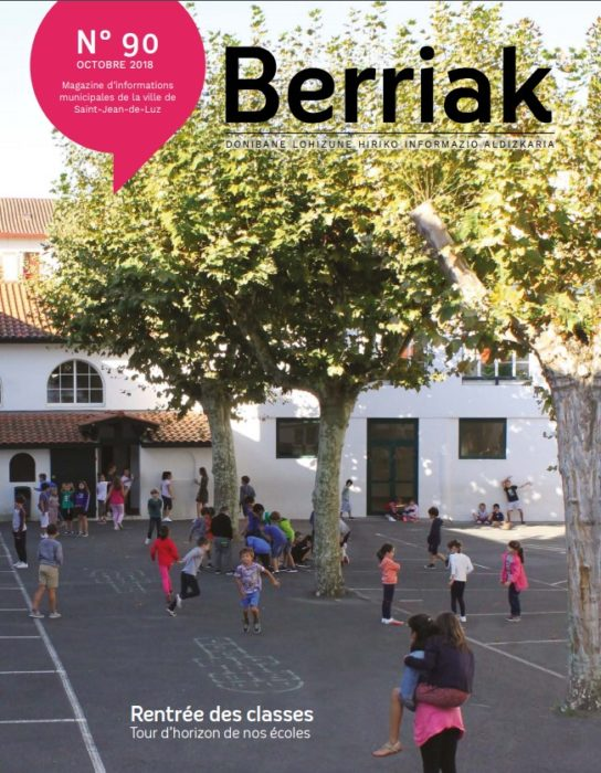 Couverture Berriak 90