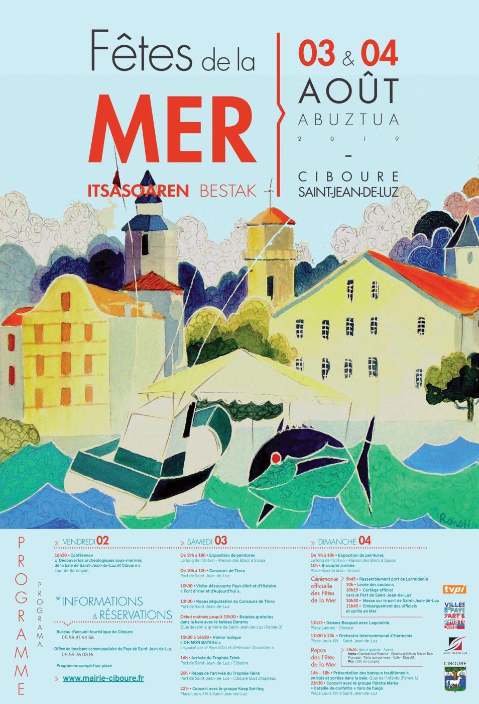 Fetes De La Mer 2019 Affiche