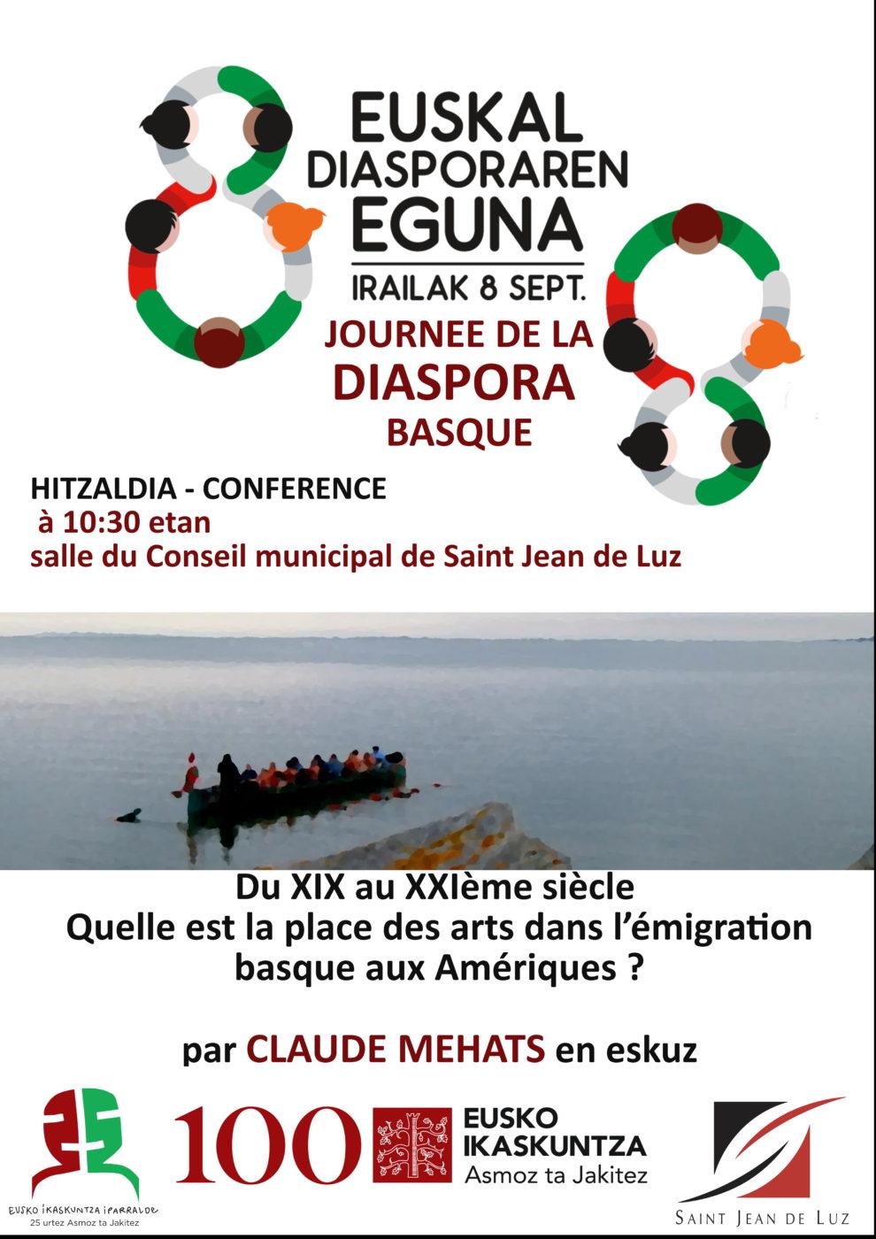 Conférence Saint Jean De Luz Claude Mehats