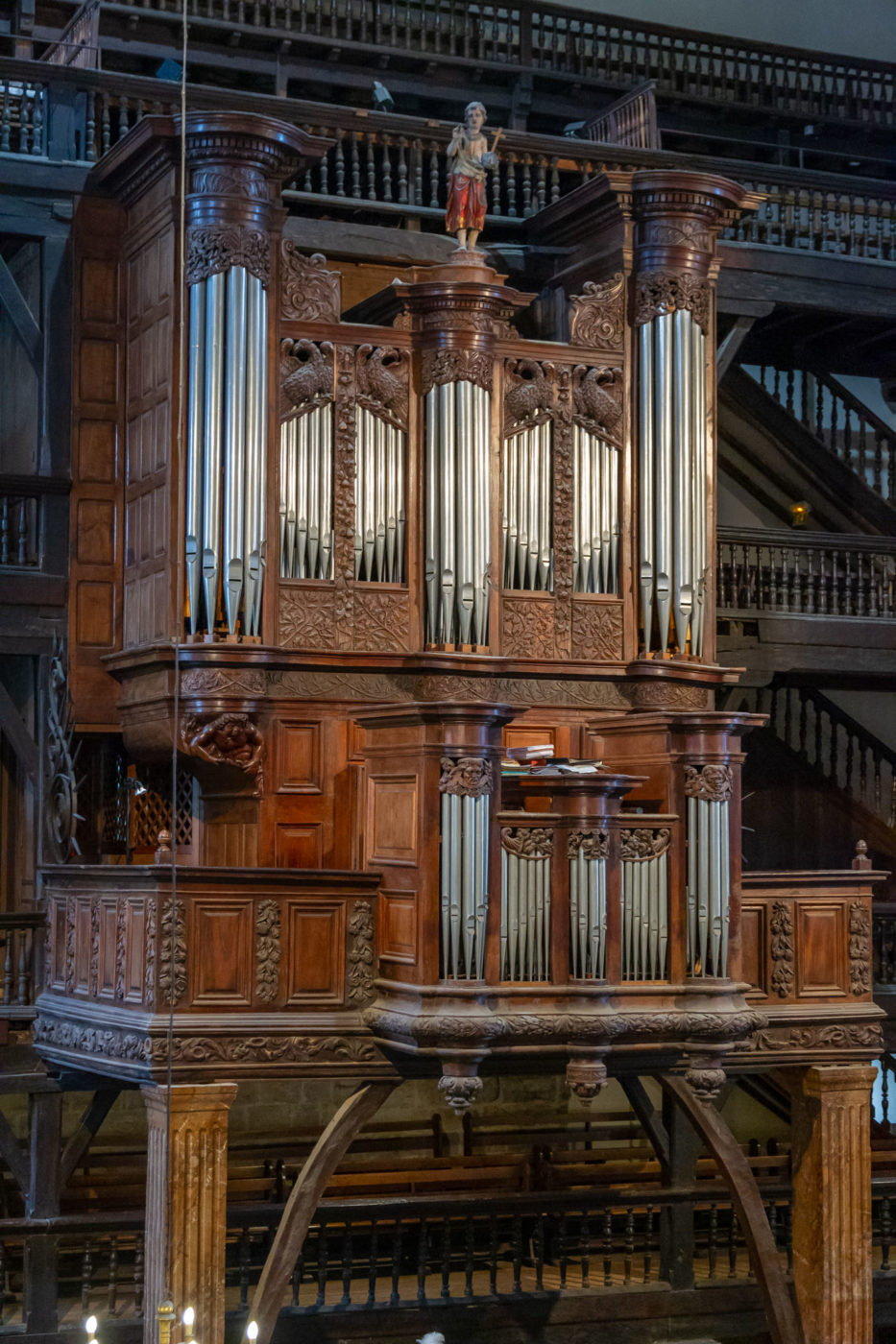 Saint Jean De Luz, Berriak 93, Orgue De L'église Saint Jean Baptiste