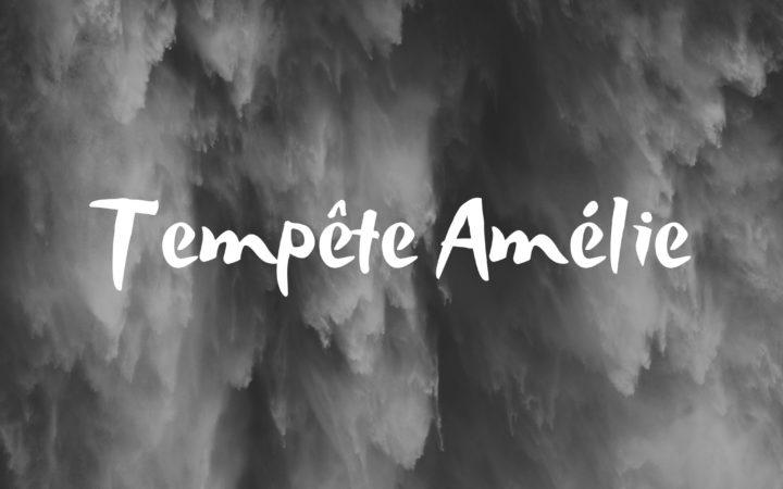 Tempête Amélie