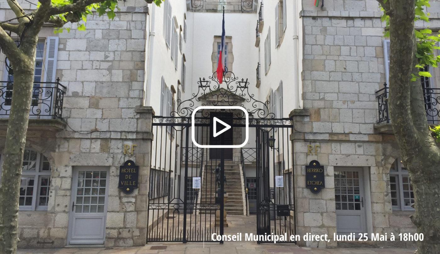 Saint Jean De Luz Conseil Municipal Youtube 25052020