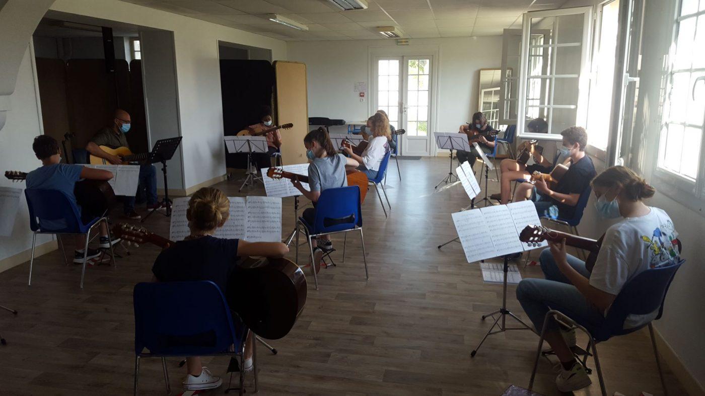 20210615 Répétition école Musique3