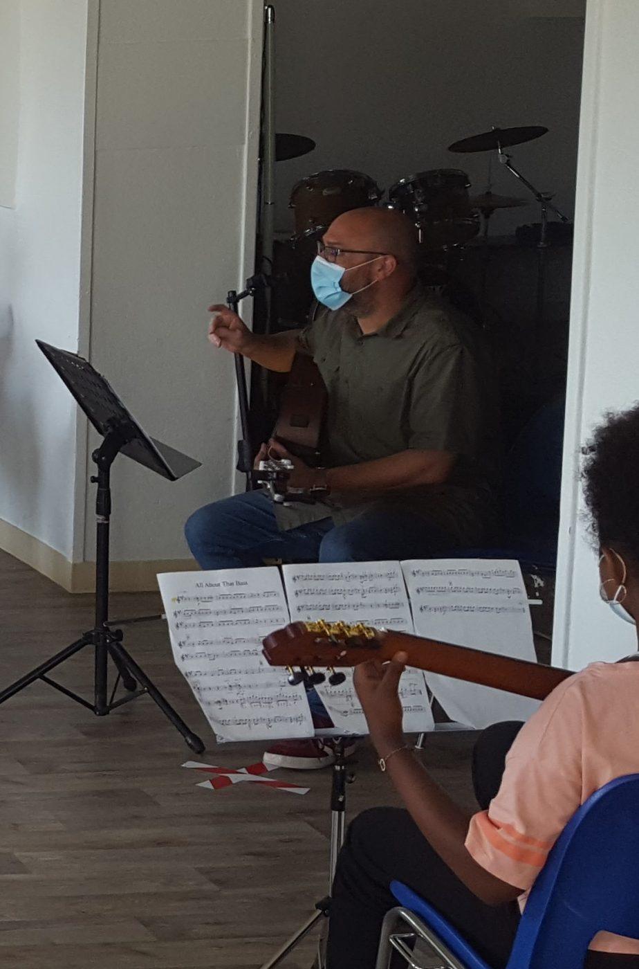 20210615 Répétition école Musique4